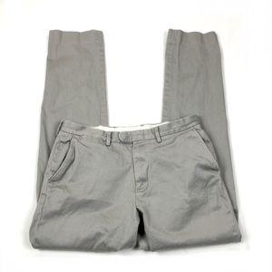 J Crew Bowery Slim Fit Chino Pants 32x34
